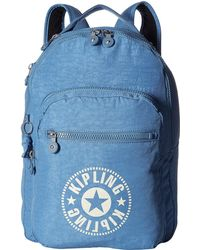 Kipling Clas Seoul Backpack - Blue