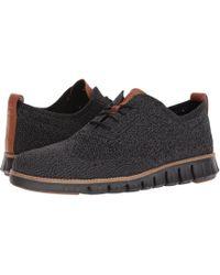 Cole Haan - Zerogrand Stitchlite Oxford (optic White/white) Men's Plain Toe Shoes - Lyst