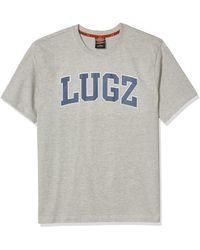 Lugz Explorer Crew Neck T-shirt - Gray
