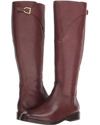 Cole Haan - Harrington Grand Riding Boot (black Leather) Women's Boots - Lyst