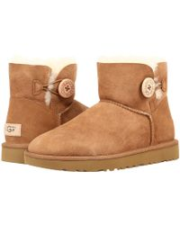 UGG - Bailey Button Ii (fawn) Women's Boots - Lyst