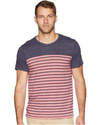 Alternative Apparel - Eco Jersey First Mate Tee (sea Breeze Overdye Riviera Stripe) Men's T Shirt - Lyst