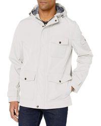 Dockers Thorn Trail Cloth Waterproof Rain Slicker Jacket - White