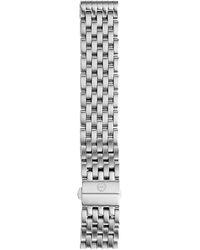 Michele 18mm Deco 7-link Bracelet Silver/steel - Metallic