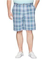 Nautica - Big & Tall Roadmap Plaid Shorts - Lyst