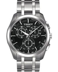 Tissot - Couturier Chronograph - T0356171105100 (black/grey) Watches - Lyst
