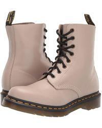 Dr. Martens - Women's 1460 Pascal Wanama Soft Leather Combat Boots - Lyst