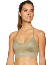 75c4e854d9 Alo Yoga - Lush Bra (gravel Glossy) Women s Bra - Lyst