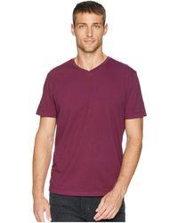 Mod-o-doc - Del Mar Short Sleeve V-neck Tee (grey Heather) Men's T Shirt - Lyst