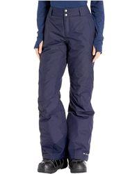 Columbia Bugaboo Omni-heat Pants - Blue