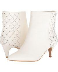 Dolce Vita Dot Ankle Boot - White