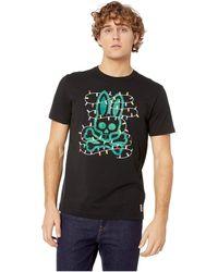 Psycho Bunny - Holiday Lights Graphic Tee (black) Men's T Shirt - Lyst