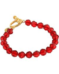Chan Luu - Crystal Bracelet With Toggle - Lyst