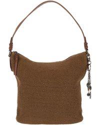 The Sak Sequoia Crochet Hobo - Brown