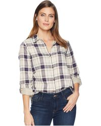 Stetson - 2225 Herringbone Ombre Plaid (blue) Women's Clothing - Lyst