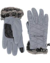 Columbia Heavenly Gloves - Gray