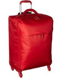 Lipault Original Plume 25 Spinner Luggage - Red