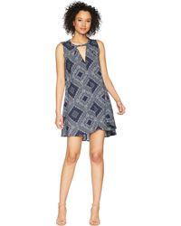 Dylan By True Grit - Modern American Bandana Sleeveless Dress (blue) Women's Dress - Lyst