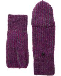 Rag & Bone - Jonie Mittens (magenta) Over-mits Gloves - Lyst