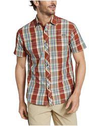 Eddie Bauer Greenpoint Short Sleeve Shirt - Multicolor
