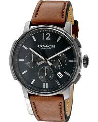 COACH - Bleecker Chrono Leather - Lyst