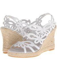 Eric Michael - Jillian (brown) Women's Wedge Shoes - Lyst