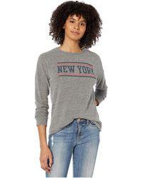 The Original Retro Brand Super Soft Haaci New York Pullover - Gray