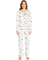 Pj Salvage Playful Prints Pj Set - White