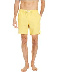 O'neill Sportswear Solid Volley Boardshorts - Yellow