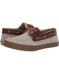 Sperry Top-Sider - Bahama Ii Boat Wool (olive) Men's Shoes - Lyst
