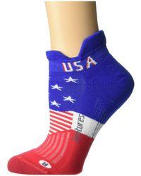 Feetures Elite Light Cushion No Show Tab Freedom - Blue