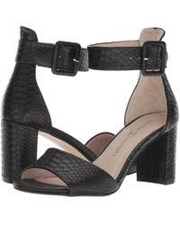 Chinese Laundry - Rumor (black Snake) High Heels - Lyst