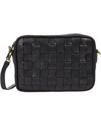 Madewell Large Transport Camera Bag Woven - Black