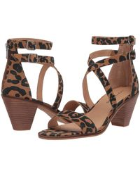 Lucky Brand Ressia Heeled Sandal - Multicolor