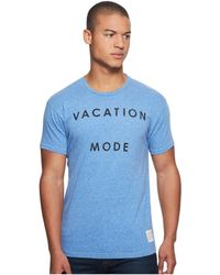 The Original Retro Brand - Vacataion Mode Short Sleeve Tri-blend Tee - Lyst