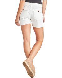 Sam Edelman Cargo Shorts In Optic White