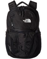 The North Face Recon Backpack Bags - Black
