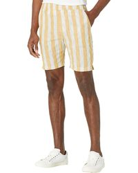 Native Youth Striped Shorts Shorts - Yellow
