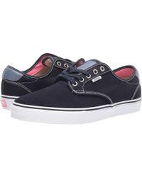 c66eebcdbcb25 Vans - Chima Ferguson Pro ((twill) Blackout) Men s Skate Shoes - Lyst