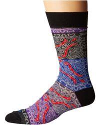 Etro | Patch Paisley Socks | Lyst