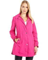 Kate Spade Hooded Anorak - Pink