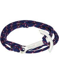 Miansai | Modern Anchor On Rope Bracelet | Lyst