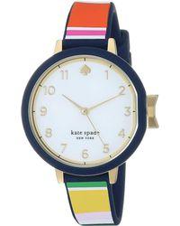 Kate Spade - 34 Mm Park Row Watch - Ksw1528 - Lyst
