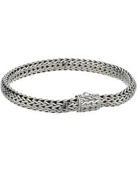 John Hardy Classic Chain 6.5mm Bracelet - Metallic