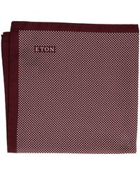 Eton of Sweden - Signature Dot Pocket Square - Lyst