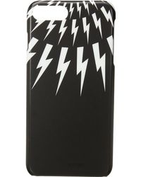 Neil Barrett - Thunderbolt Fair Isle Iphone 7 Plus Case - Lyst