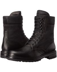 Rag & Bone Spencer Commando Leather Boots - Black