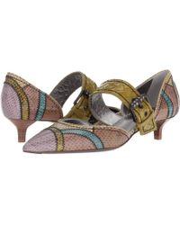 Bottega Veneta - Buckle Dorsey 3.5cm Pump (multicolor) Women's 1-2 Inch Heel Shoes - Lyst