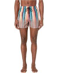 Paul Smith Artist/multistripe Mix Classic Swim Shorts - Multicolor