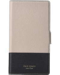 Kate Spade - Sylvia Magnetic Folio Phone Case For Iphone Xr - Lyst